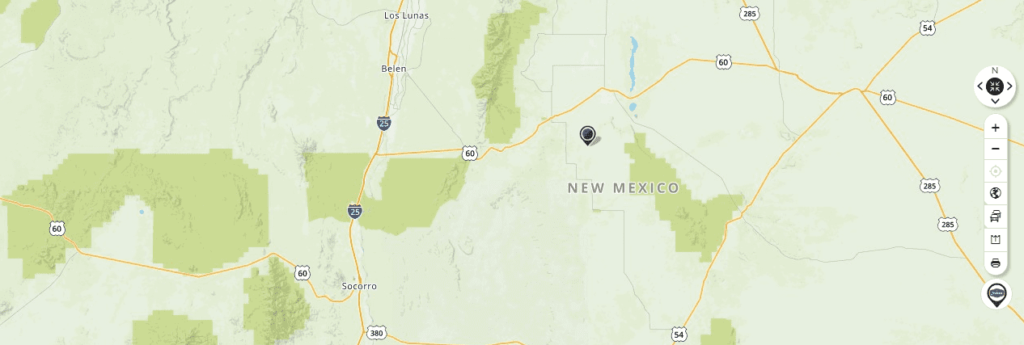 Mapquest Map of New Mexico and Driving directions