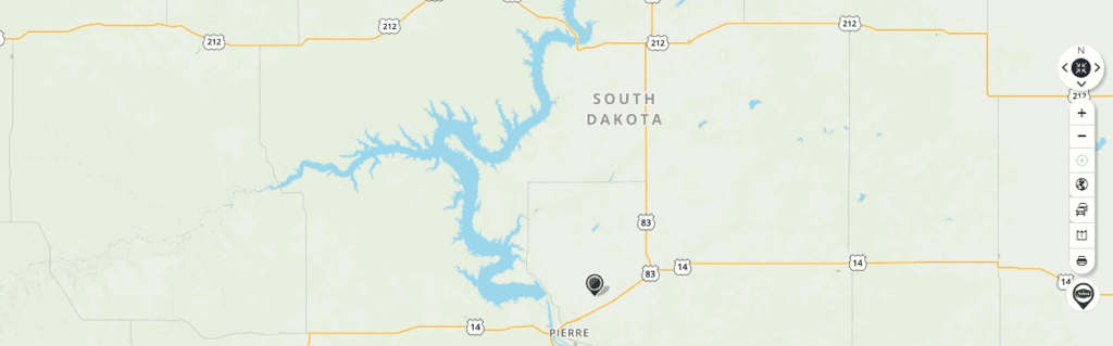 Mapquest Map of South Dakota and Driving directions - Mapquest ... on