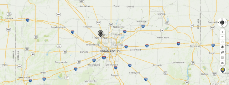 Mapquest Map of Indiana and Driving directions - Live Maps ...