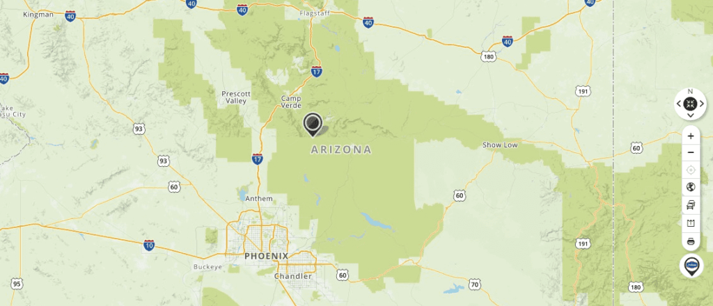 Mapquest - Map of Arizona and Driving directions - Live Maps ...
