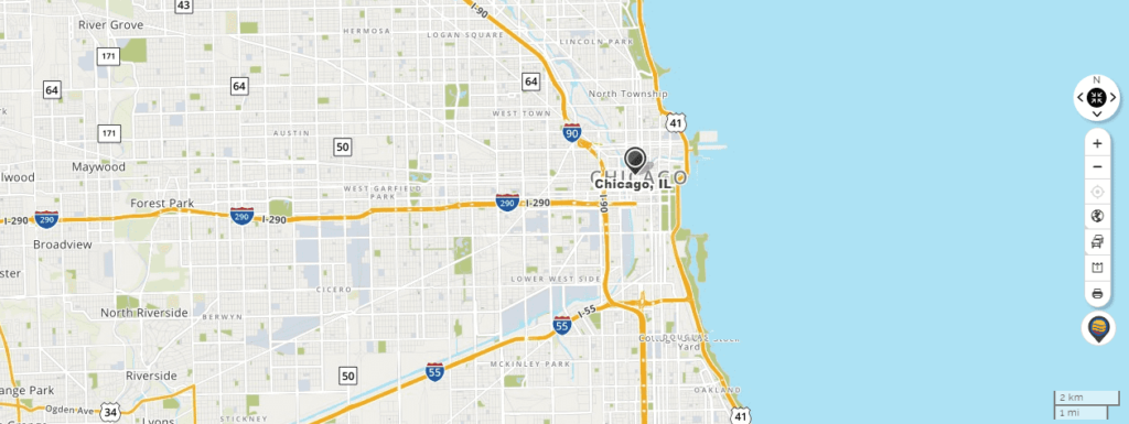 mapquest chicago